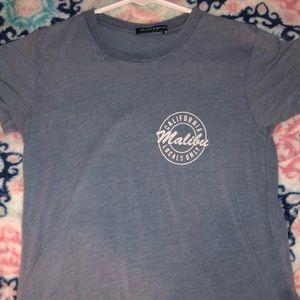Brandy Melville light blue malibu top, one size